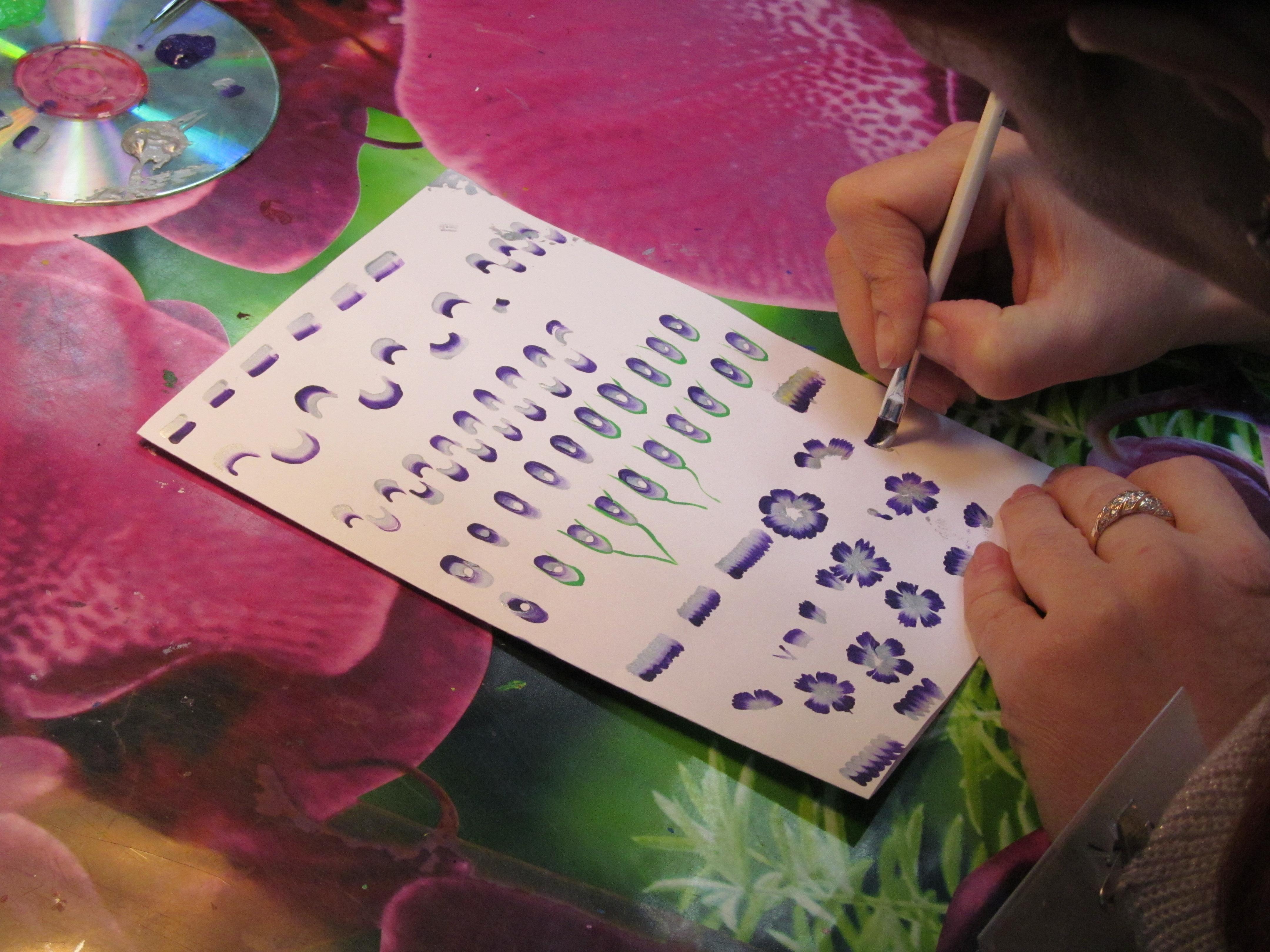 Дизайн -китайская роспись