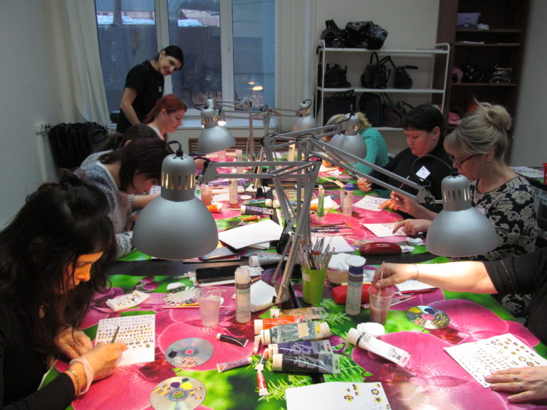 китайская роспись - обучение в школе