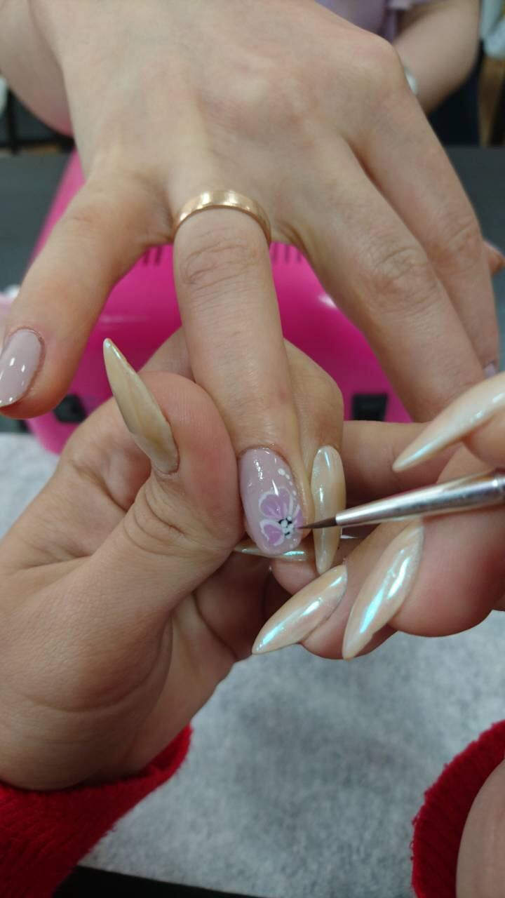дизайн ногтей от преподавателя
