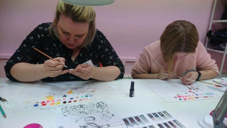 Обучение мультидизайну ногтей